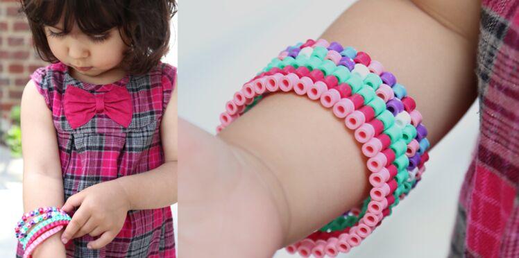 Des bracelets en perles Hama