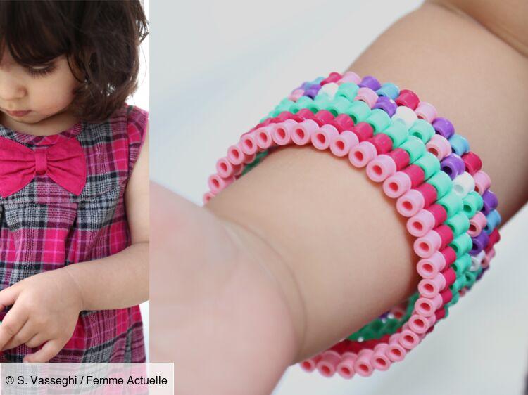 Des bracelets en perles Hama : Femme Actuelle Le MAG
