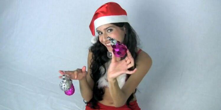 Ampoule + paillettes = boule de Noël !