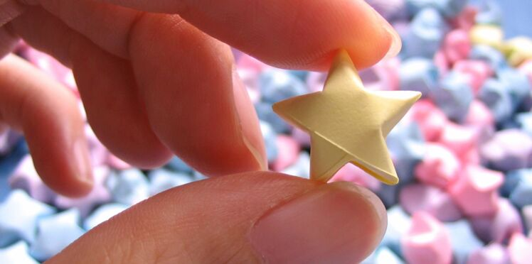 Origami facile : une étoile express