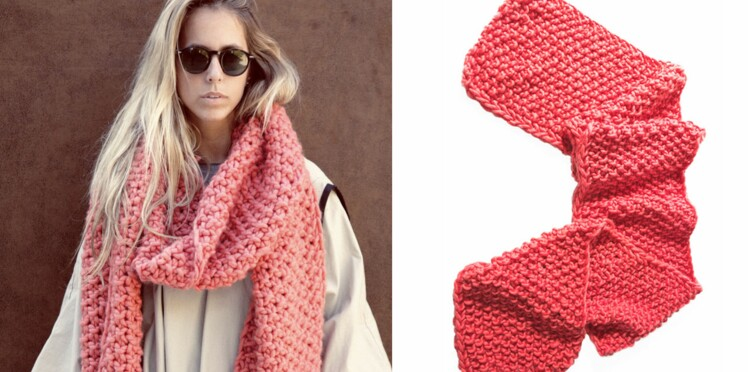 We are knitters : l'écharpe XXL