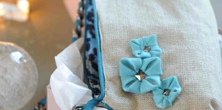 Un sac en lin tendance