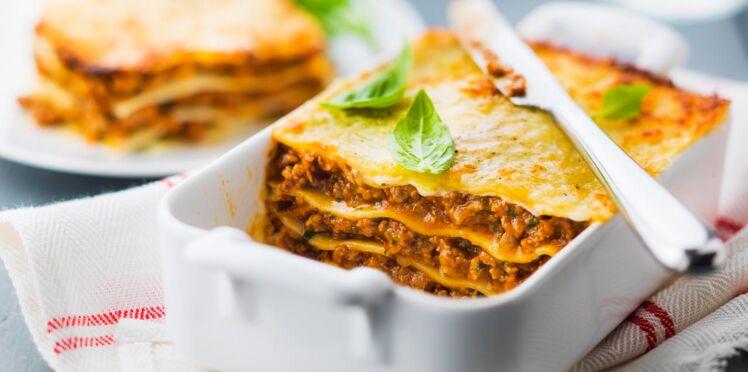 Je fais mes lasagnes en moins de 30 minutes !