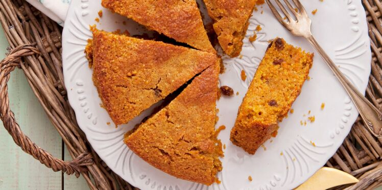 Le carrot cake au maïs
