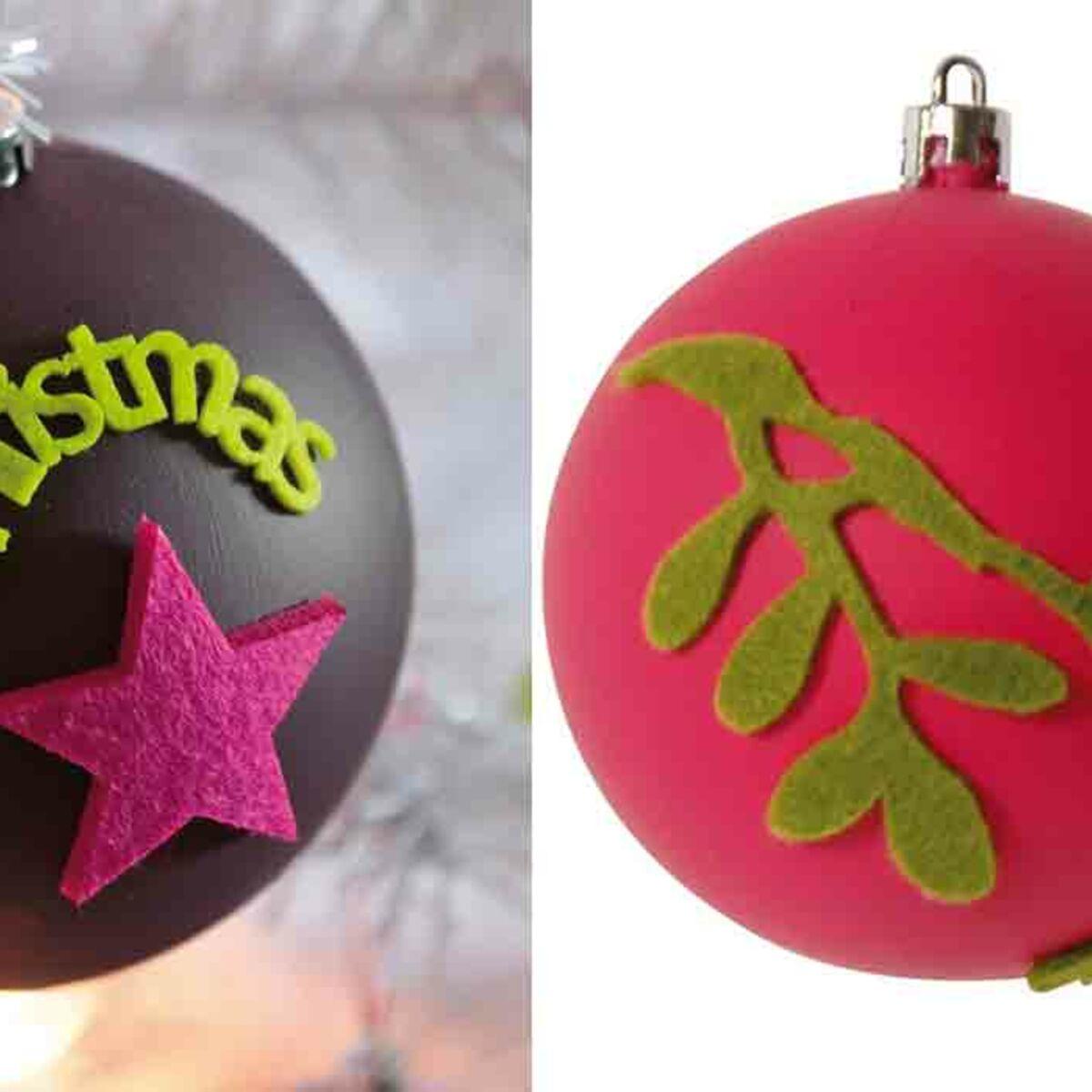 Fabriquer Deco Noel En Feutrine des boules de noël en feutrine : femme actuelle le mag