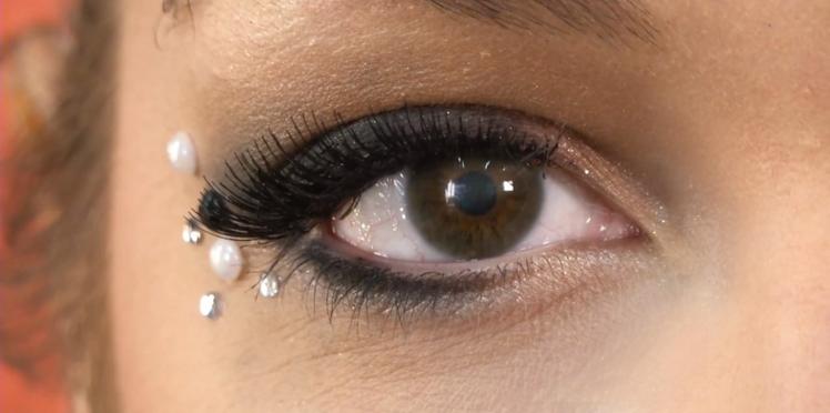 Vidéo make-up : J'ose le duo faux cils et strass