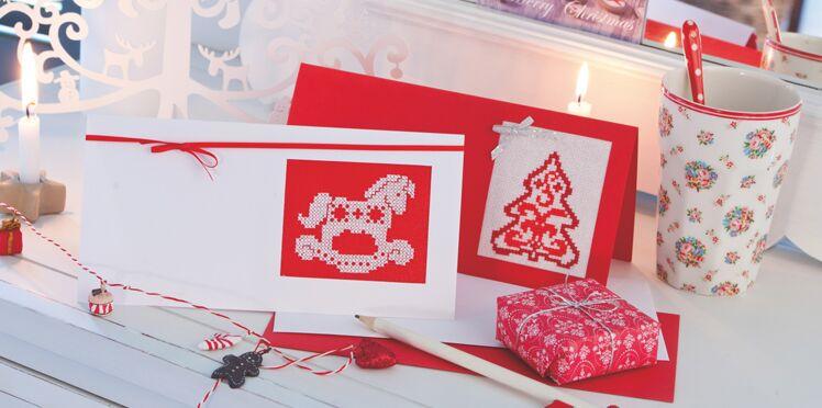 Noël : des grilles gratuites de broderies au point de croix