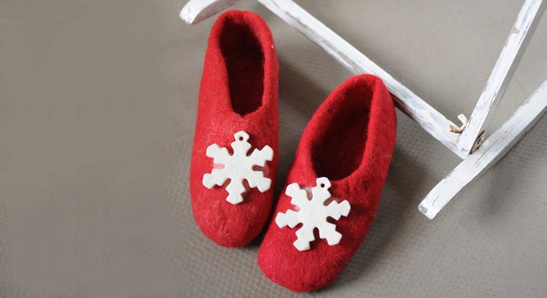 Personnaliser des chaussons pour enfants