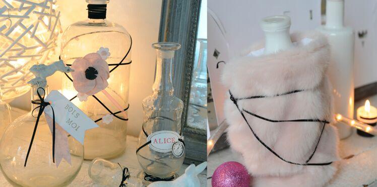 Customiser des flacons en verre