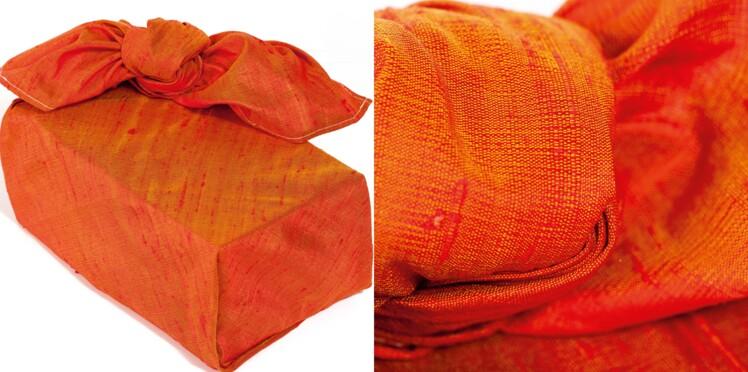 Pliage furoshiki : la boîte cadeau