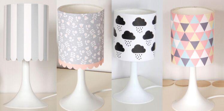Une lampe en 4 versions