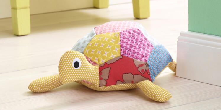 Doudou à coudre : Lulu la tortue