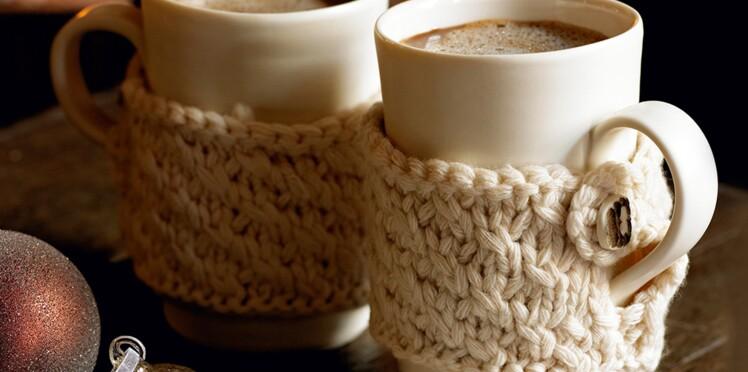 Tricot : une housse pour mug