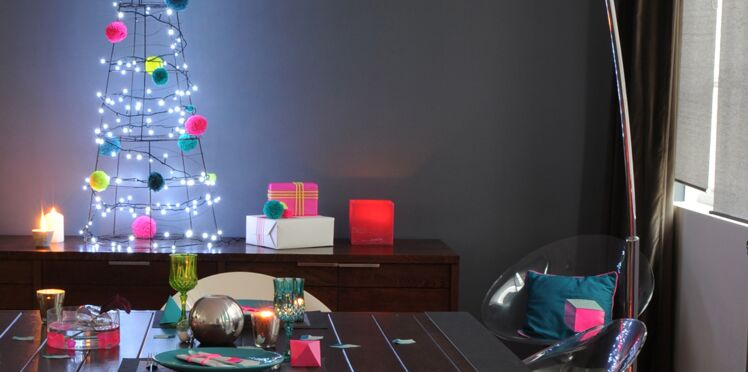 Décoration de Noël multicolore