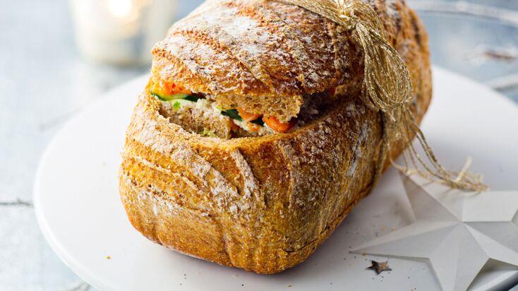 Je fais un pain surprise maison