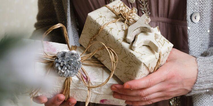 Des paquets cadeaux en relief