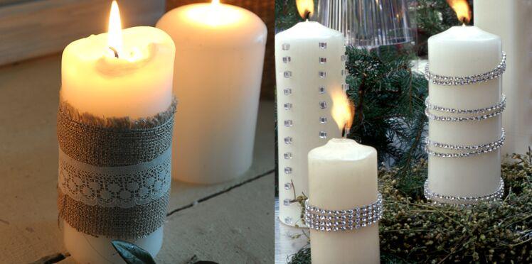 Personnaliser des bougies