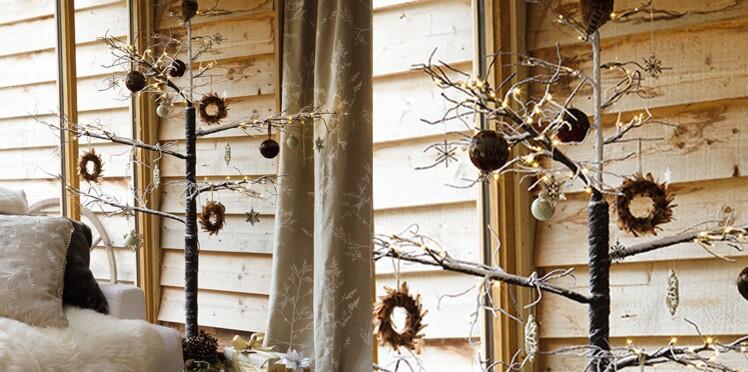 Un sapin de Noël original et sans épine