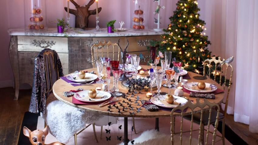 Déco de table pour un Noël enchanté
