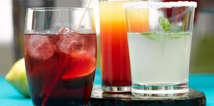 Trio de cocktails