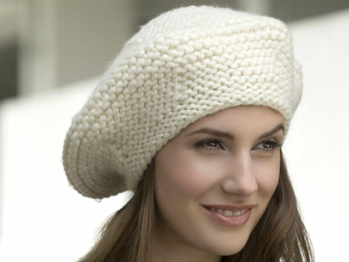 beret femme tricot tuto