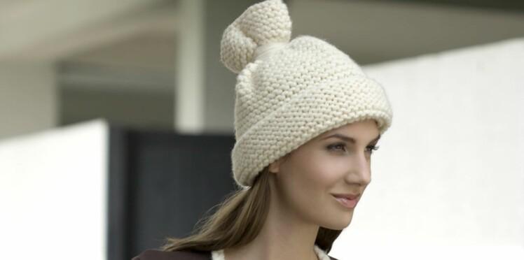 038e411c3a8 Le bonnet écru   Femme Actuelle Le MAG