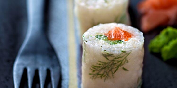 Makis aneth et saumon