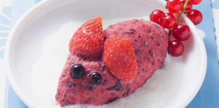 """""""Maousse"""" aux fruits rouges"""