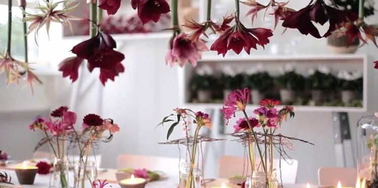 Vidéo: décorez votre table avec des amaryllis