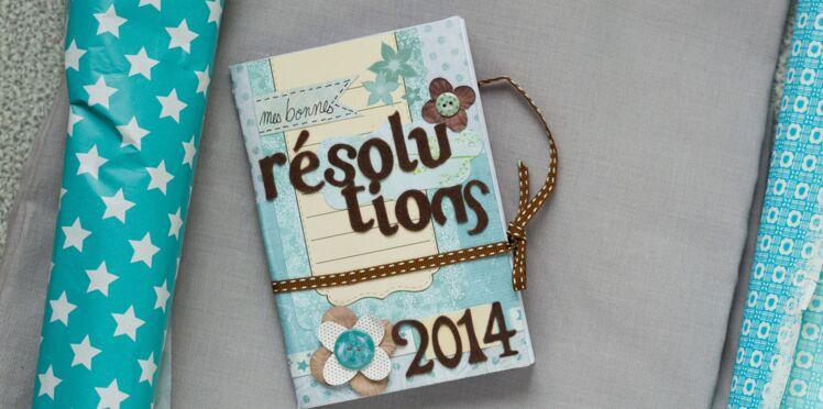 Vidéo : Carnet de bonnes résolutions en scrapbooking