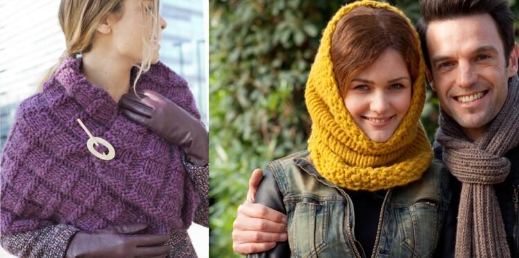 Tricots d hiver   tous nos accessoires pour avoir chaud   Femme ... d7c1d483ac3