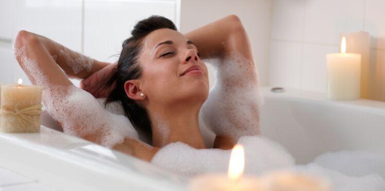 Sachet fleuri pour un bain relaxant