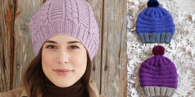 Tous nos modèles de bonnets   Femme Actuelle Le MAG a151fd6bcdd