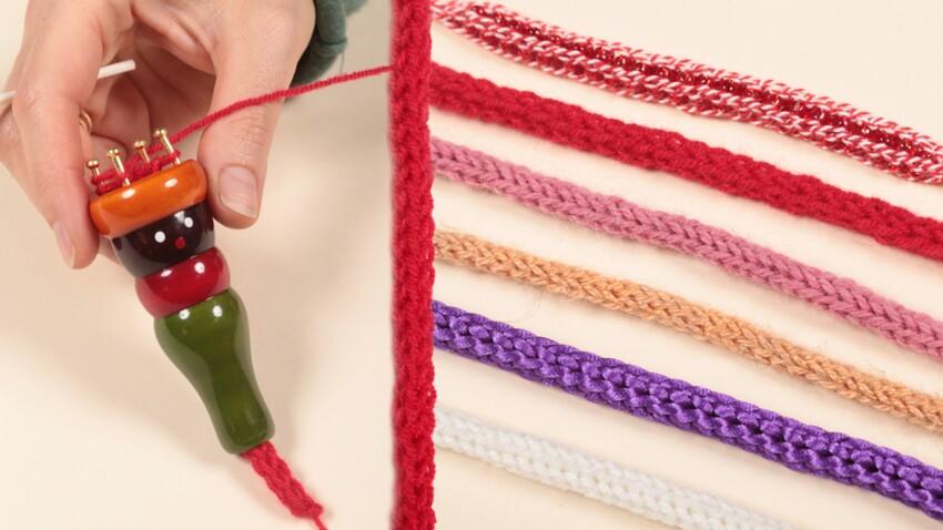 Comment utiliser un tricotin ?