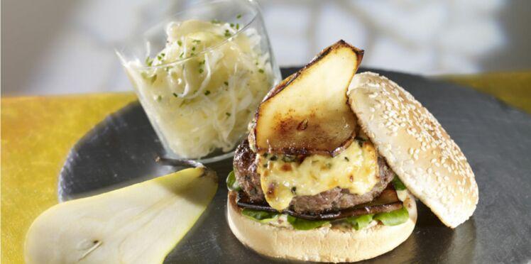 Burgers de bœuf auvergnats