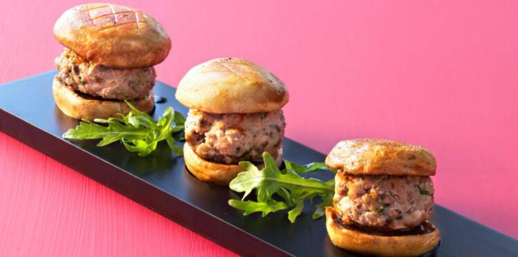 Hamburger de veau parisien