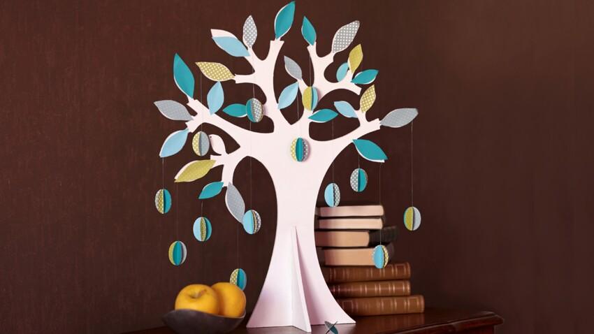 Pâques DIY : un arbre coloré