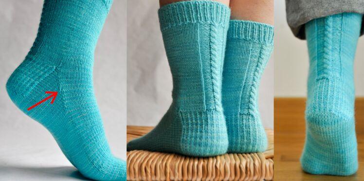 Tricoter des chaussettes, le tuto d'Elise