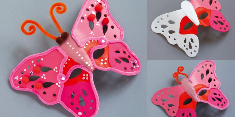 Un masque de papillon