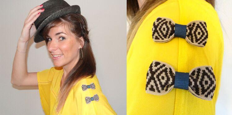 DIY débutant : des noeuds pour customiser un tee-shirt