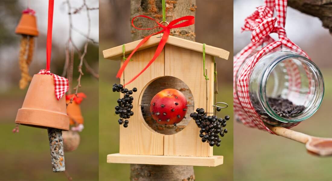 3 idées originales pour nourrir les oiseaux
