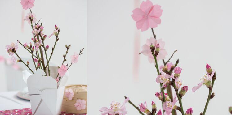 Papier crépon, de soie, origami : nos fleurs artificielles