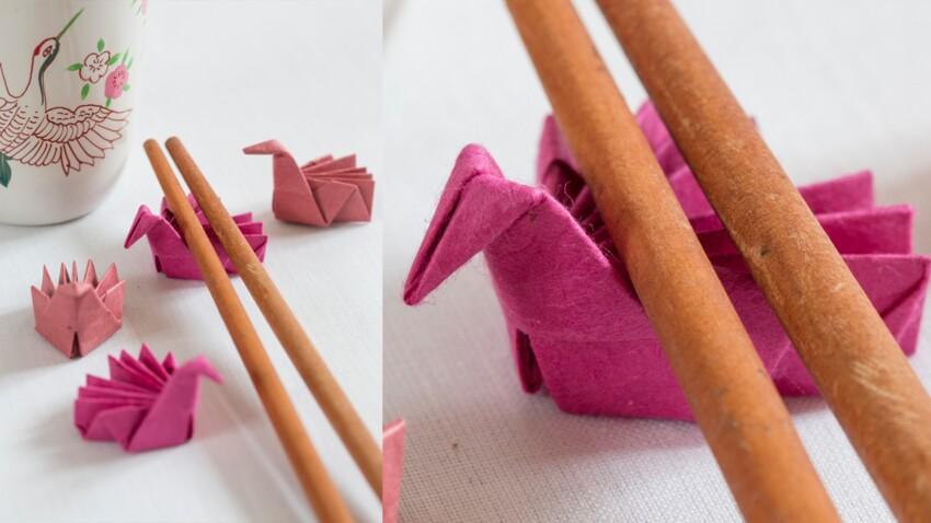 Origami facile : un oiseau