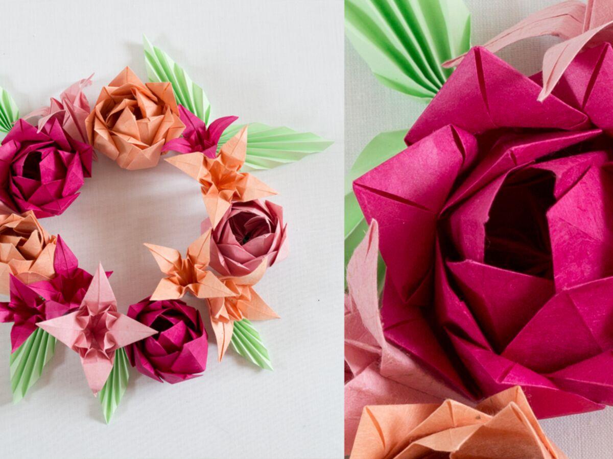 Origami Une Fleur De Lotus Multiple Femme Actuelle Le Mag