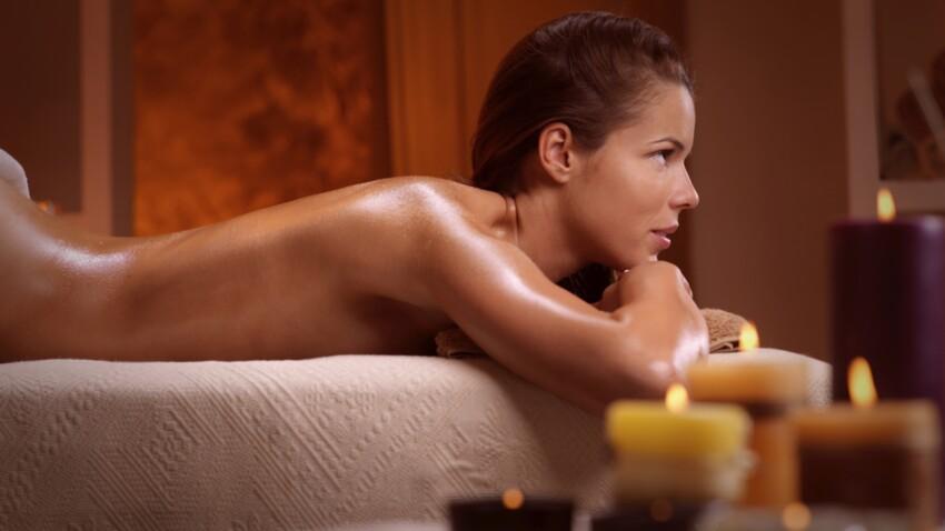 Une huile de massage coquine