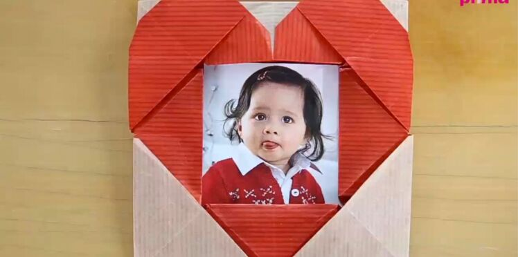 Un coeur en origami