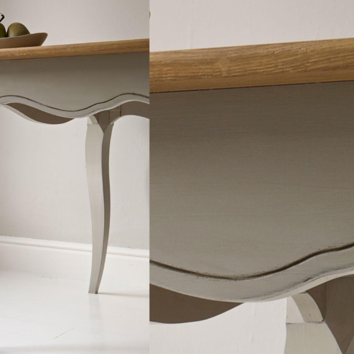 Relooker Une Table En Bois comment repeindre une table en bois ? : femme actuelle le mag