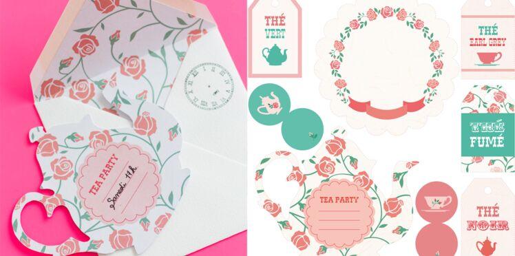 Printable gratuit : des étiquettes pour le tea time