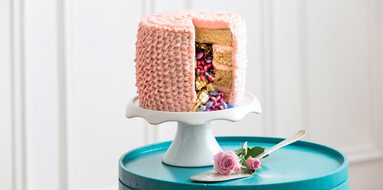 Un gâteau façon piñata
