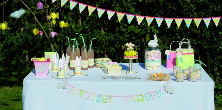 Une sweet table de Pâques